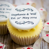 Wedding Anniversary Cupcake Decorations