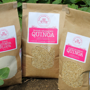 Locally grown quinoa loose & plastic free per/kg