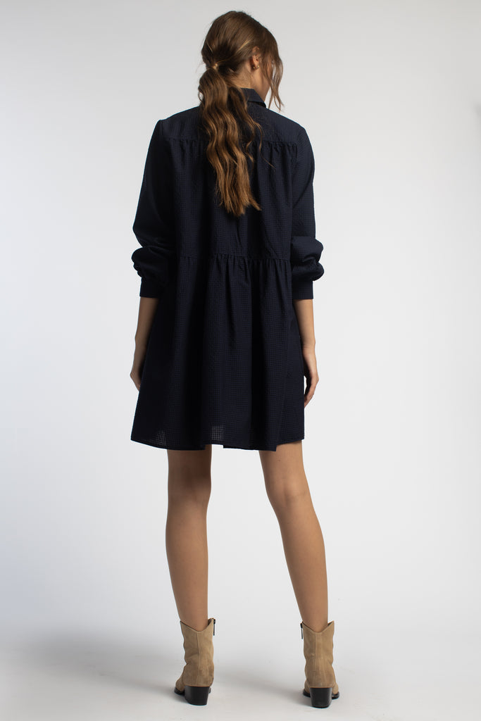 Short Dress With Long Sleeves