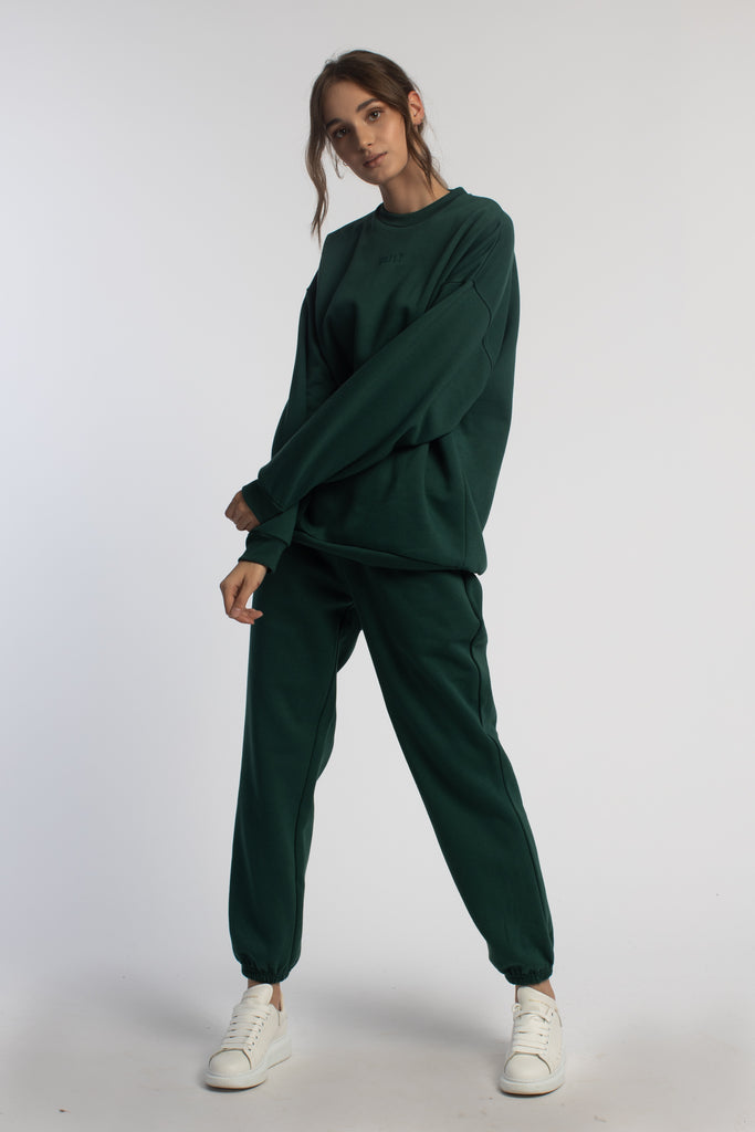 Green Oversized Joggers