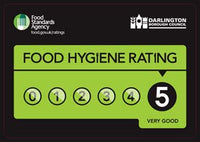 Dr Gus bone broth 5 star hygiene rating darlington borough council environmental health and safety