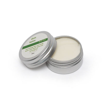 10 mL tin of tallow based hydrating skin balm, made from organic ingredients. Good for psoriasis and dry skin.