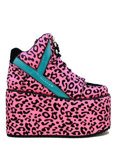 Qozmo Neon Pink Leopard