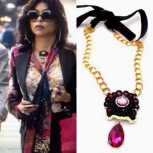 Empire Statement Cookie Lyon swarovski crystal Necklace By Beads Of Aquarius - Beads Of Aquarius