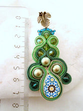 statement green emerald earrings - Beads Of Aquarius