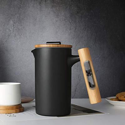 Ceramic French Press Coffee Maker