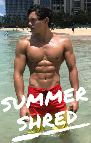 Mens Summer Shred Meal Plan for 165-180 lbs.