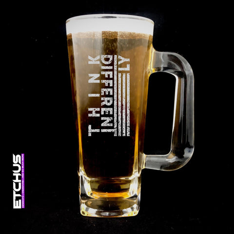 Think Differently Beer Mug