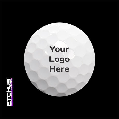 Custom Logo Golf Ball