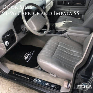 Door Sills - Caprice and Impala SS