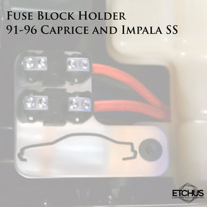 Fuse Holders - Caprice and Impala SS