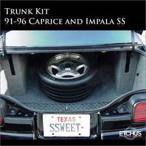 Trunk Kit for Caprice and Impala SS