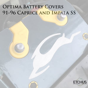 Optima Cover - Caprice and Impala SS - Stainless