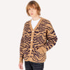 Tiger Stripe Oversized Cardigan