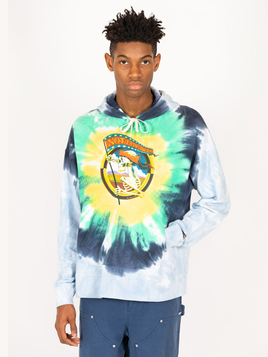 Stanley Mouse Oversized 'Not Fade Away' Hoodie
