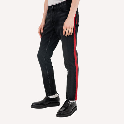 OS-1 Slim Side Stripe Jean