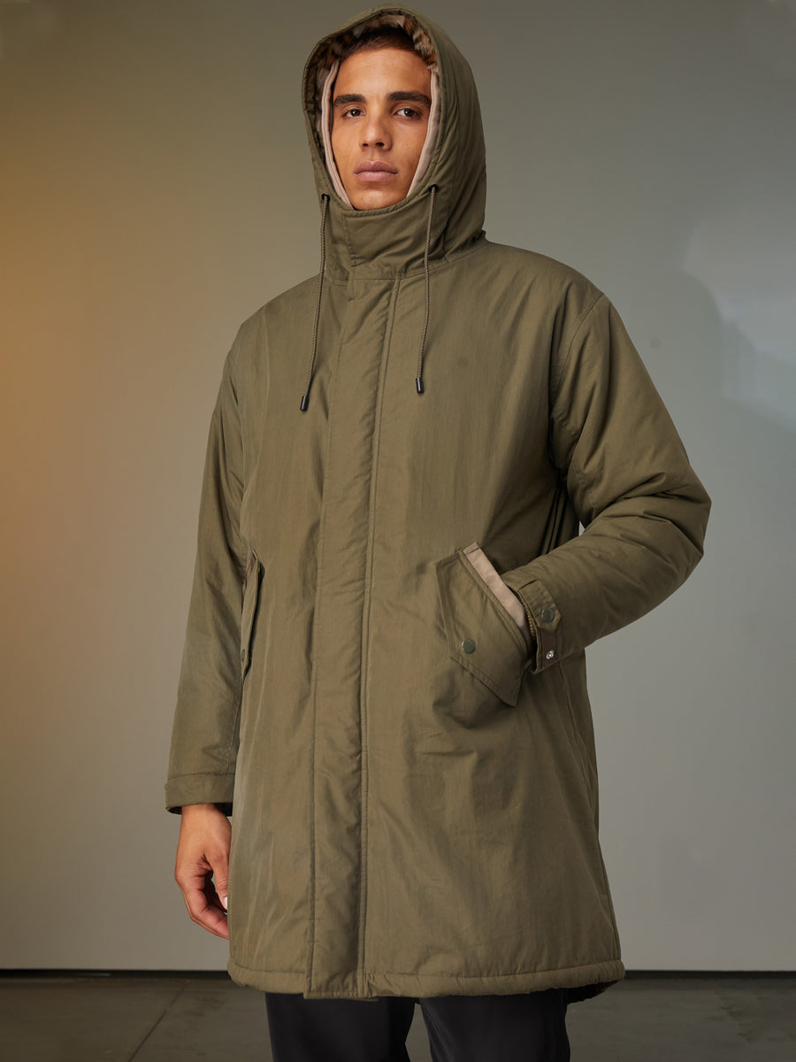 Dawn Lined Fishtail Parka