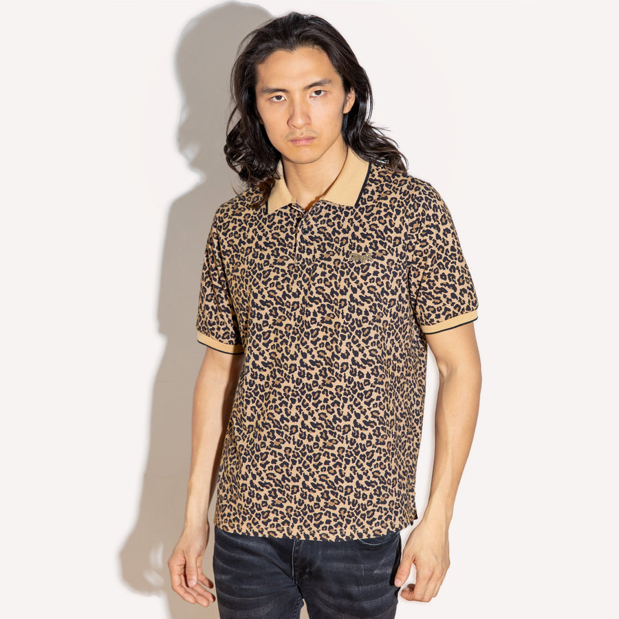 Leopard Polo Shirt