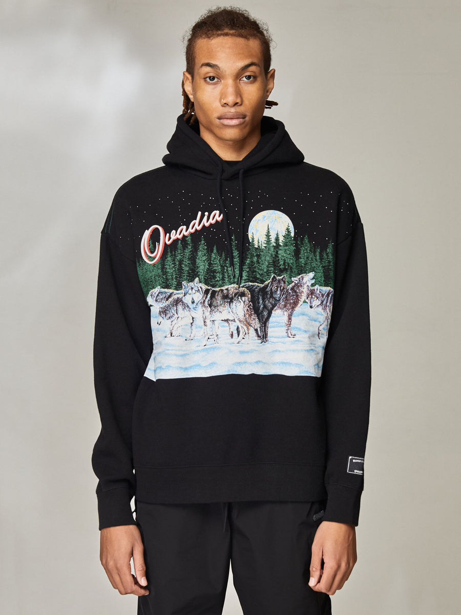 Wolves Oversized Hoodie