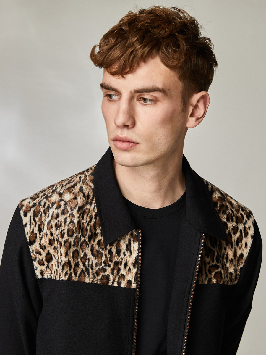 Billy Leopard Jacket