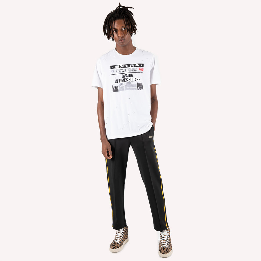 NY Minute Distressed T Shirt