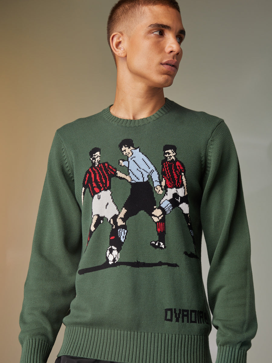 Betar Hand Knit Soccer Sweater