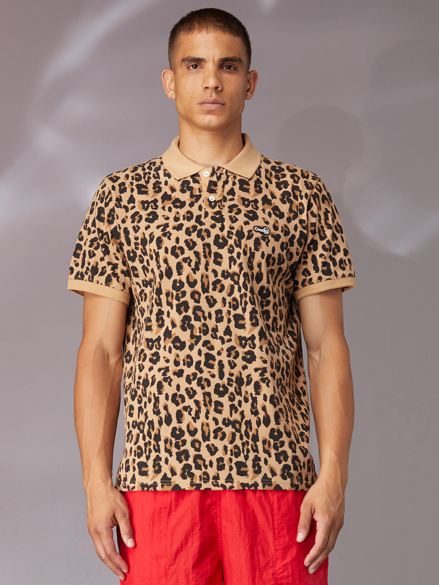 Leopard Summer Polo