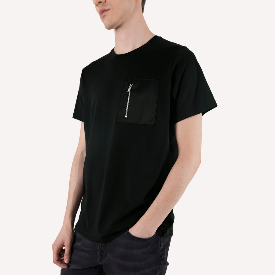 Zip Pocket T Shirt