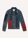 Patch Denim Jacket