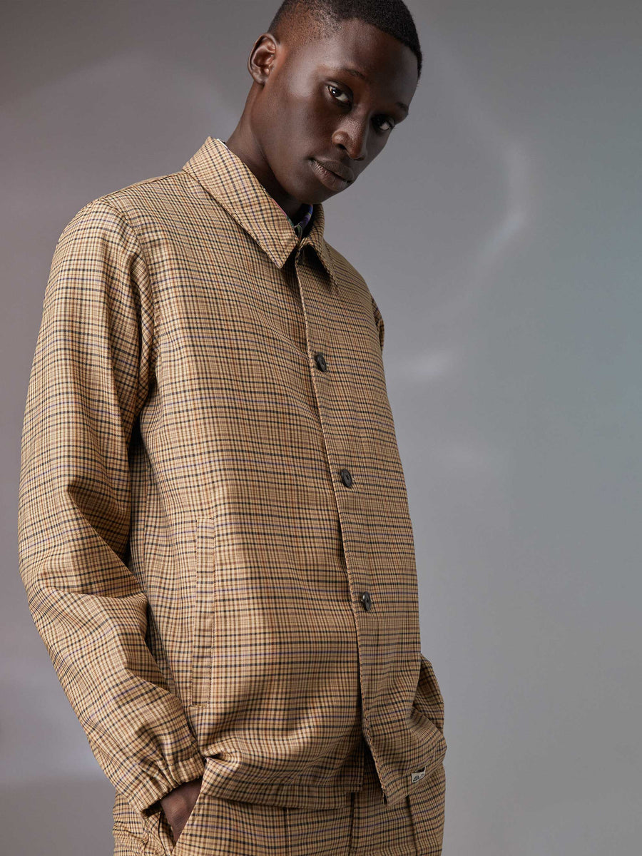 Wool Coaches Jacket