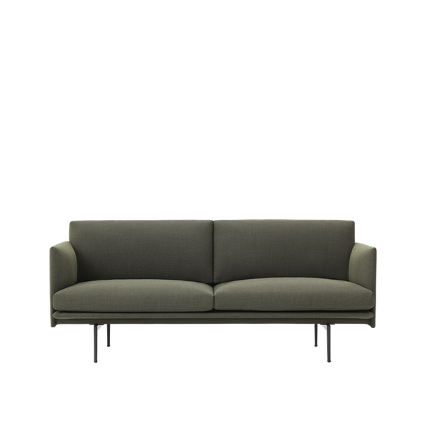 Muuto Outline sofa 2-seater