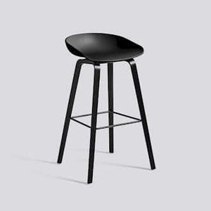 Hay AAS32 About a stool barkruk - zwart eik/zwart high - fast delivery - [oosterlinck]