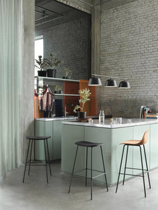 Muuto Fiber bar stool tube base - low - [oosterlinck]