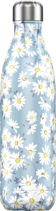 Chilly's Bottles Floral Daisy 750ml - [oosterlinck]