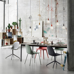 Muuto Fiber side chair sled base - [oosterlinck]