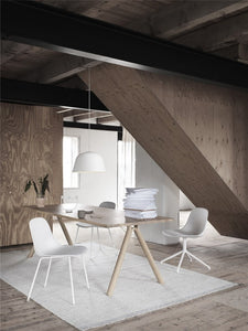 Muuto Fiber side chair wood base - [oosterlinck]