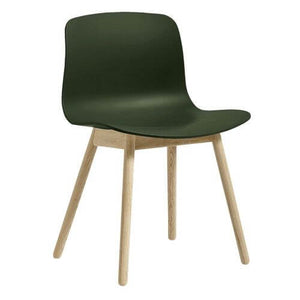Hay About a chair AAC12 - mat gelakt eik onderstel - [oosterlinck]