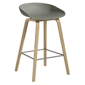 Hay AAS32 About a stool barkruk - gezeept eik - low - oosterlinck