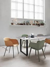 Muuto Fiber armchair wood base - [oosterlinck]
