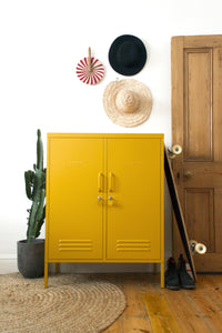 Mustard Made locker Midi Mustard - [oosterlinck]