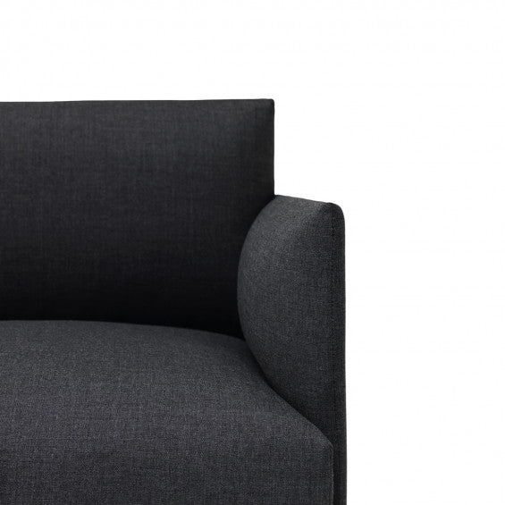 Muuto Outline sofa chaise longue left - [oosterlinck]
