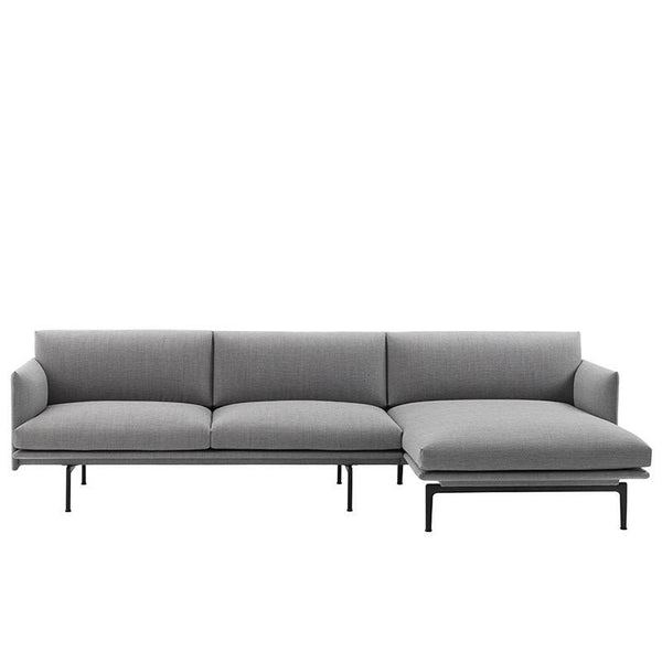 Muuto Outline sofa chaise longue right