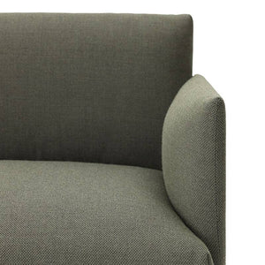 Muuto Outline sofa chaise longue right - [oosterlinck]