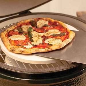 Big Green Egg Pizzasteen - [oosterlinck]