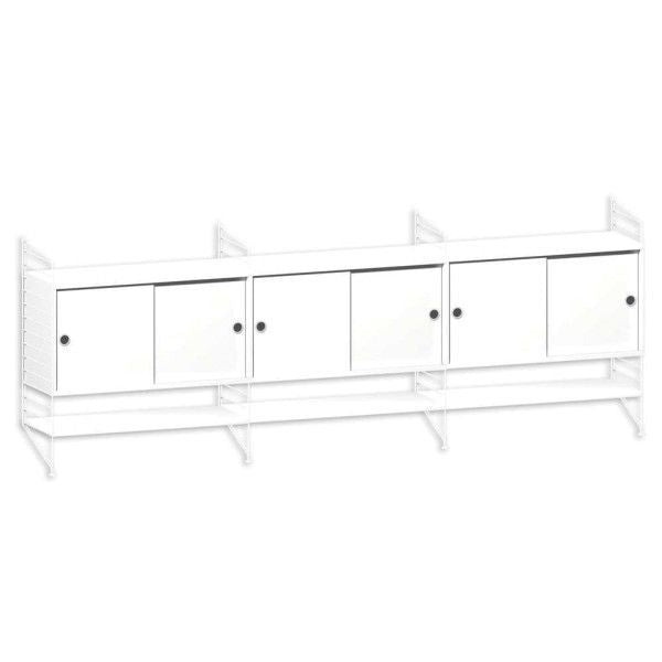 String System dressoir large wit - [oosterlinck]