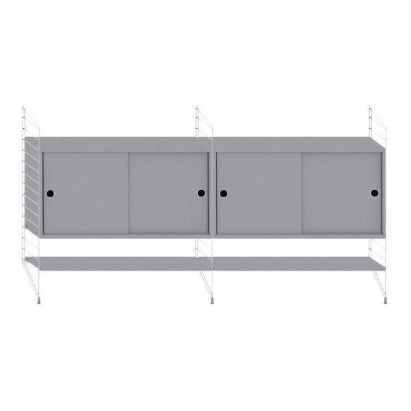 String System dressoir medium grijs - [oosterlinck]