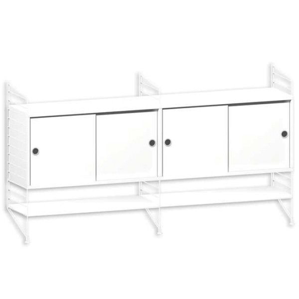 String System dressoir medium wit - [oosterlinck]