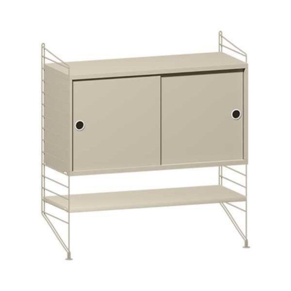String System dressoir small beige