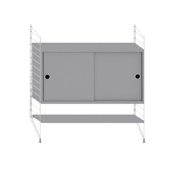 String System dressoir small grijs - [oosterlinck]