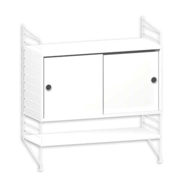 String System dressoir small wit